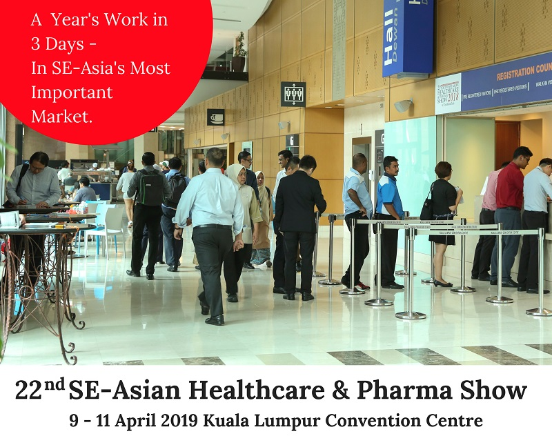 20th SOUTHEAST-ASIAN HEALTHCARE & PHARMA SHOW 2017